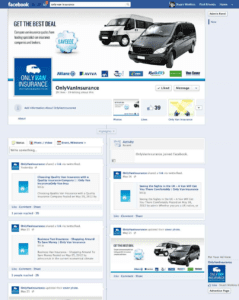 Only Van Insurance Facebook Page