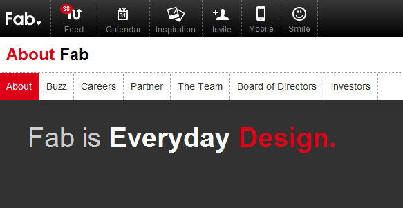FAB is everyday design