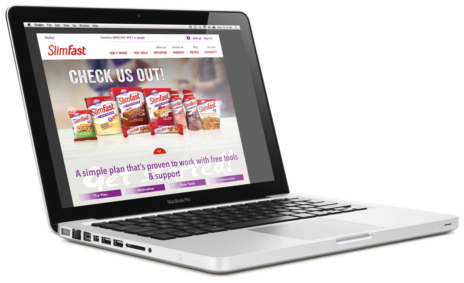 SlimFast Website