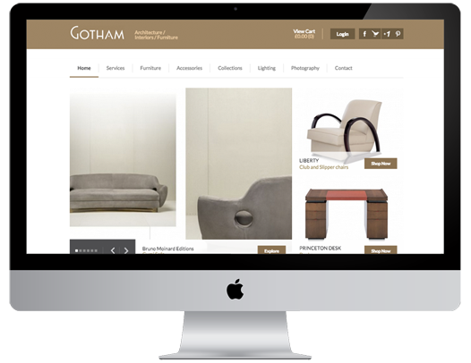 Gotham Website