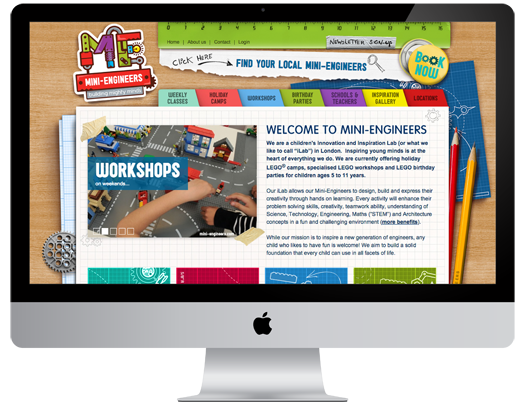 Mini Engineers Website
