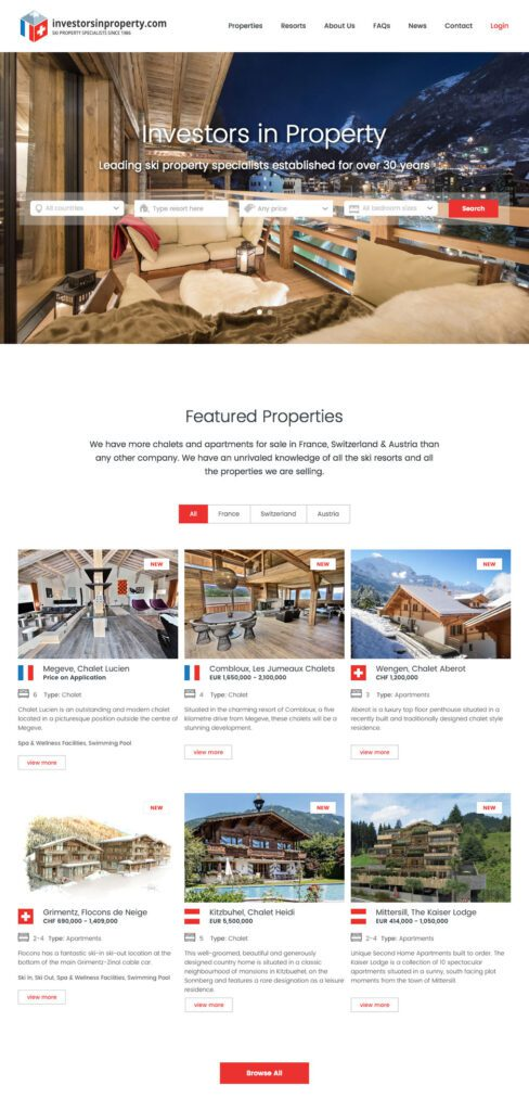 Investors in Property Homepage