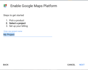 Google Maps new payment structure process