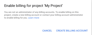 Google Maps new payment structure process - Enable Billing