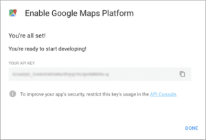 Google Maps new payment structure process - Completed